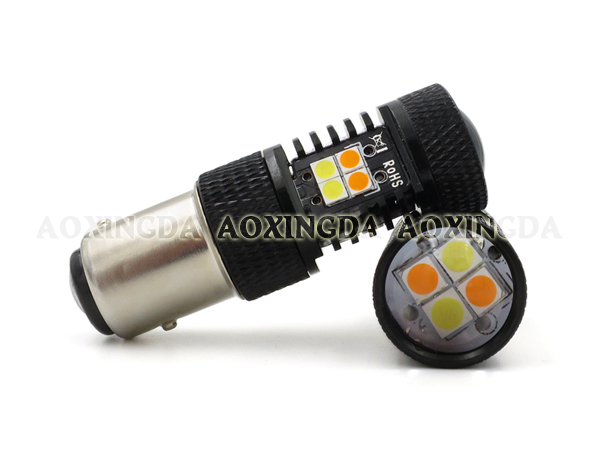 1157 42W dual color LED